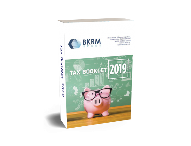 Image of Front Cover of Tax Booklet 2019